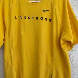 Vintage Nike Live strong T-shirt original logo XL